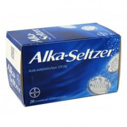 ALKA SELTZER 324 mg, 40 comprimés effervescents