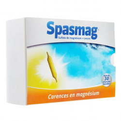 Spasmag solution buvable 30 ampoules de 5 ml