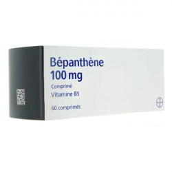 Bepanthène 100mg 60 comprimés