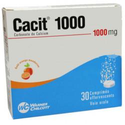 CACIT 1000 mg 30 comprimés effervescents