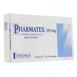 Pharmatex 18,9 mg 10 ovules