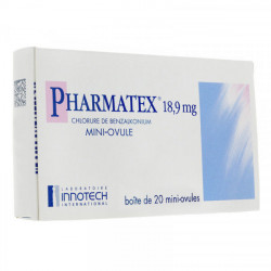 Pharmatex 18,9 mg 20 ovules