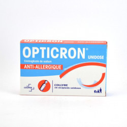 OPTICRON UNIDOSE, collyre 10 unidoses de 0,35 ml
