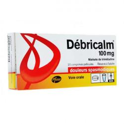 Débricalm 100 mg 20 comprimés