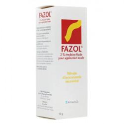 FAZOL 2 POUR CENT, émulsion fluide pour application locale, flacon de 30 g