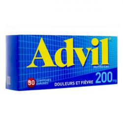 Advil 200 mg 30 comprimés