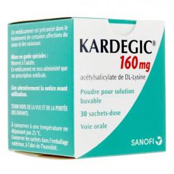 Kardegic 160 mg poudre 30 sachets