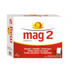 Mag 2 Magnésium 184 mg, Boite 30 sachets poudre