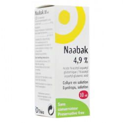 Naabak collyre 10 ml