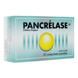 Pancrélase 30 comprimés
