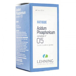 Lehning Acidum Phosphoricum Complexe n°05 solution buvable 30 ml