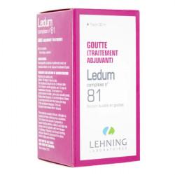 Lehning Ledum Complexe n°81 gouttes 30 ml