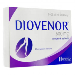 Diovenor 600 mg 30 comprimés
