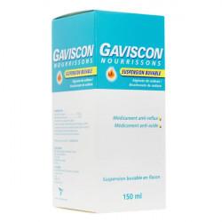 Gaviscon nourrisson suspension buvable flacon 150 ml