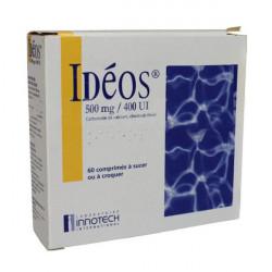 IDEOS 500 mg/400 UI, comprimé à sucer ou à croquer