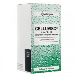 Celluvisc collyre 90 unidoses