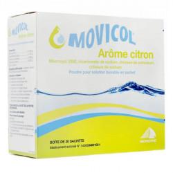 Movicol citron poudre 20 sachets