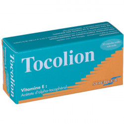 Tocolion 30 capsules molles