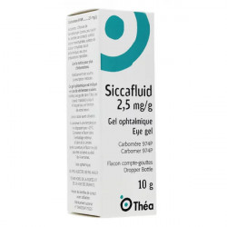 Siccafluid gel ophtalmique 10 g