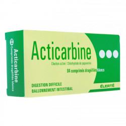 Acticarbine 84 comprimés enrobé