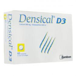 Densical D3 60 comprimés à sucer ou à croquer