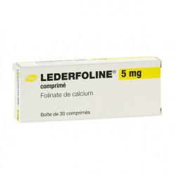 LEDERFOLINE 5 mg, 30 comprimés