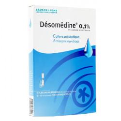 Désomédine 0,1% collyre 10 unidoses