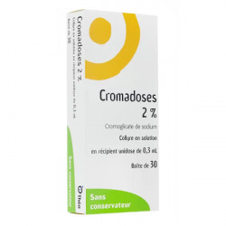 Cromadoses 2% collyre 30 unidoses