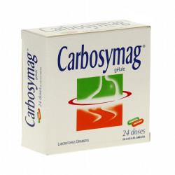 CARBOSYMAG, gélule, boîte de 24 doses de 2 gélules jumelées