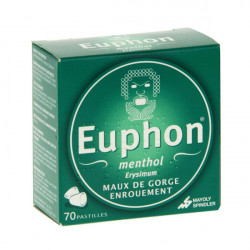 EUPHON Mernthol, 70 pastilles