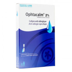Ophtacalm 2% collyre 10 unidoses