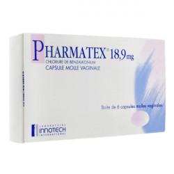 Pharmatex 18,9 mg 6 capsules vaginales