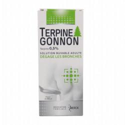 TERPINE GONNON 0,5 POUR CENT, solution buvable, flacon de 200 ml