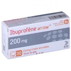 Arrow® Ibuprofène 200 mg 30 comprimés enrobés