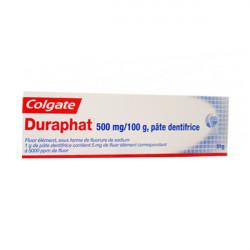 DURAPHAT 500 mg/100 g, pâte dentifrice 51g