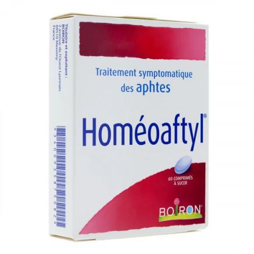 Homéoaftyl Boiron 60 comprimés à sucer