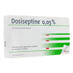 Dosiseptine 0,05% solution 20 unidoses