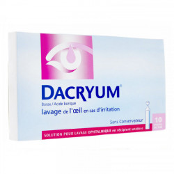 Dacryum solution pour lavage oculaire