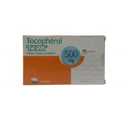 TOCOPHEROL TEVA 500 mg, capsule molle, boîte de 30