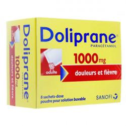 Doliprane 1000 mg poudre 8 sachets