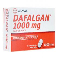 Dafalgan 1000 mg 8 comprimés