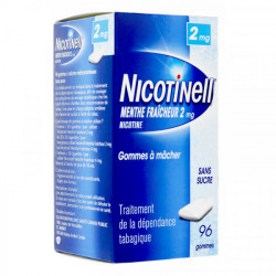 Nicotinell 2mg menthe fraîcheur 96 gommes