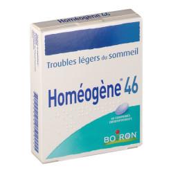 HOMEOGENE 46, comprimé orodispersible, comprimés boîte de 60
