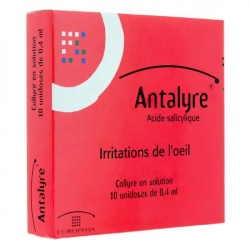 Antalyre collyre 10 unidoses