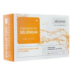 Granions de sélénium 0,96mg/2ml 30 ampoules