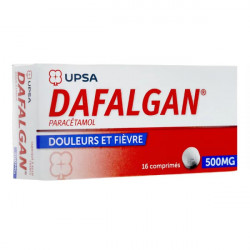 Dafalgan 500 mg 16 comprimés