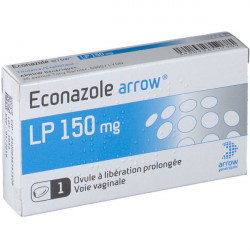 Arrow® Econazole LP 150 mg ovule à libération prolongée