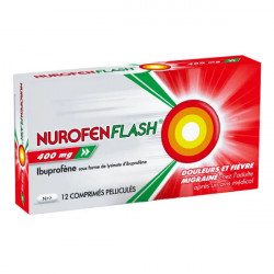 Nurofen Flash 400 mg 12 comprimés