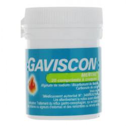 Gaviscon Menthe 20 comprimés à croquer