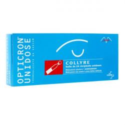 Opticron collyre 24 unidoses